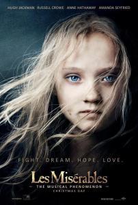 """Les Misérables Theatrical Poster: """"Cosette"""". Image (c) Working Title"""