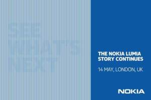 Nokia to unveil next-generation Lumia phone on May 14th
