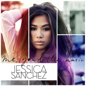 "Jessica Sanchez - ""Me, You & the Music"" Album Cover. Image (c) Interscope Records"