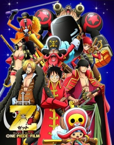 One Piece Film: Z Theatrical Poster. Image (c) Toei