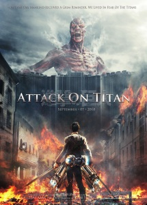 Attack on Titan Theatrical Poster (c) Toho Pictures